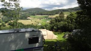 Dans le camping